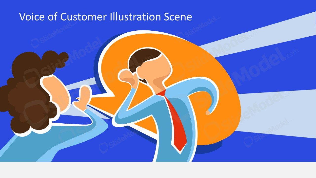 PPT Voice of Customer Vector Images