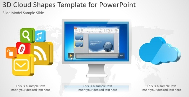 Add video to video frame in PowerPoint