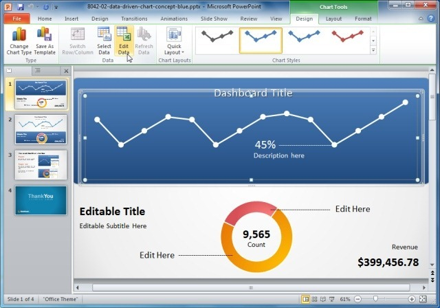 Awesome Dashboard Ideas For PowerPoint Presentations - Awesome replace powerpoint template concept