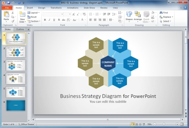 Business strategy powerpoint templateg slidemodel business strategy powerpoint templateg friedricerecipe Images