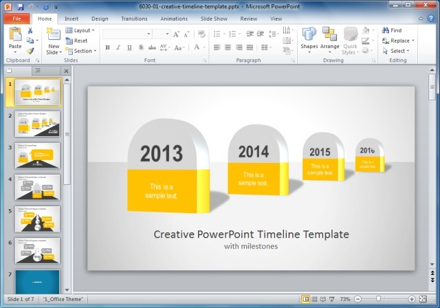 Creative templates for gantt charts project planning in powerpoint creative timeline powerpoint template toneelgroepblik Choice Image