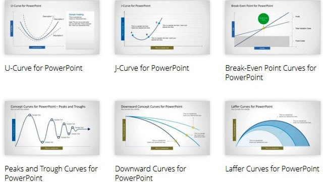 Show Popular Curves in PowerPoint With Awesome Lines & Curve Designs