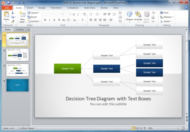 Decision Tree PowerPoint Template