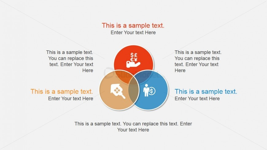 Venn Diagram Design For Powerpoint Slidemodel