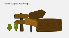 Hill Roadmap Shapes and Icons