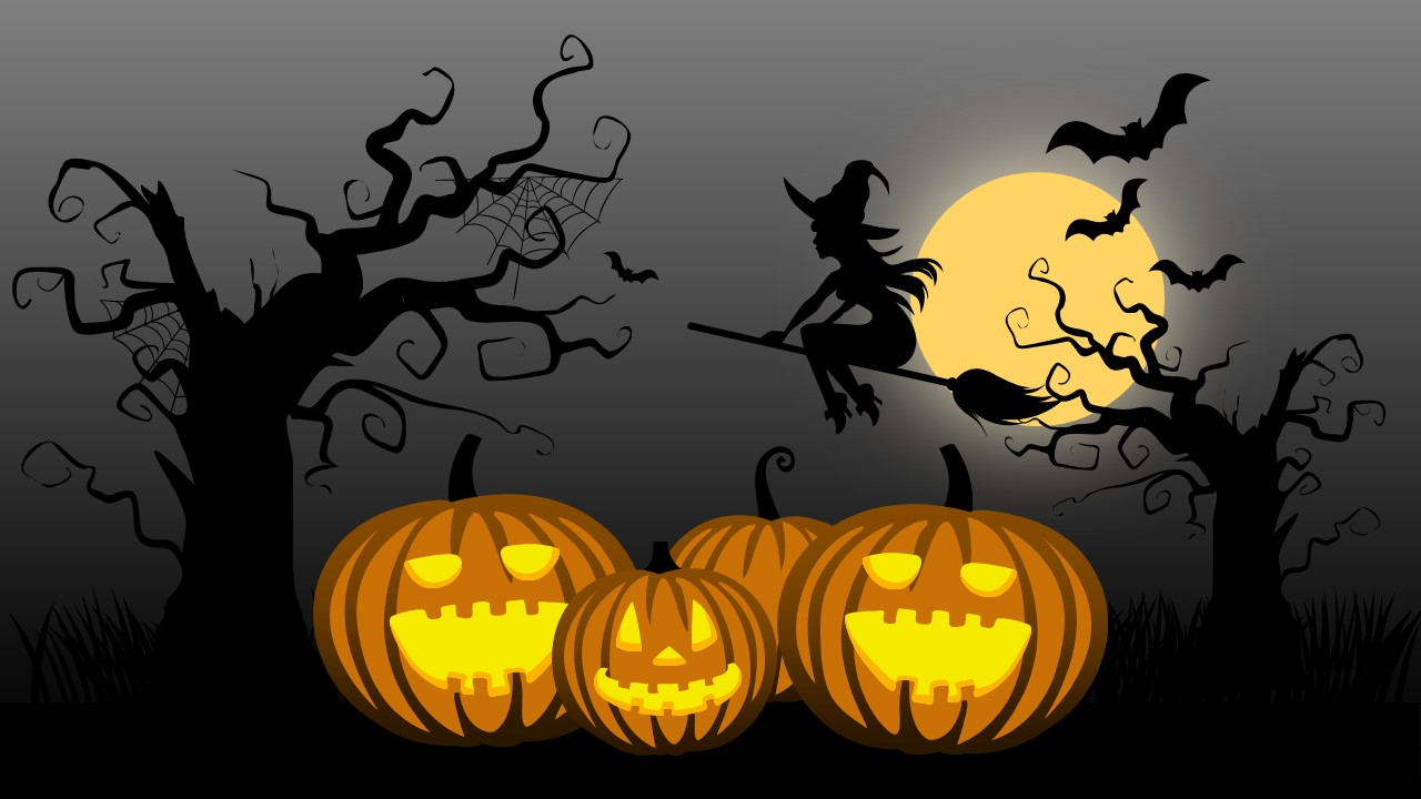 free halloween download — crafthubs, Modern powerpoint
