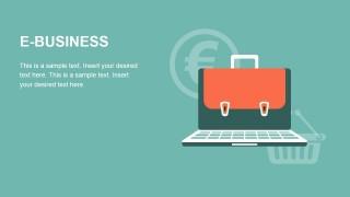Free E-Business PowerPoint Slide