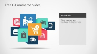 free e-commerce slides for powerpoint - slidemodel, Presentation templates