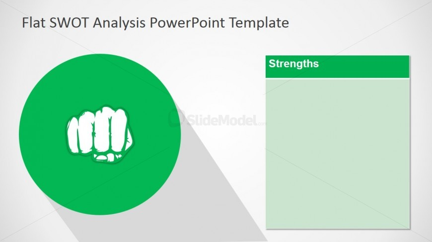 Free PPT Slide Design of Strengths