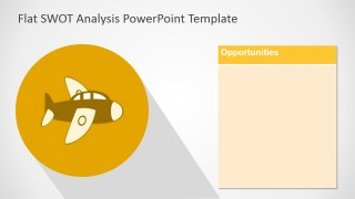 Free SWOT PPT Template Opportunities Slide Design