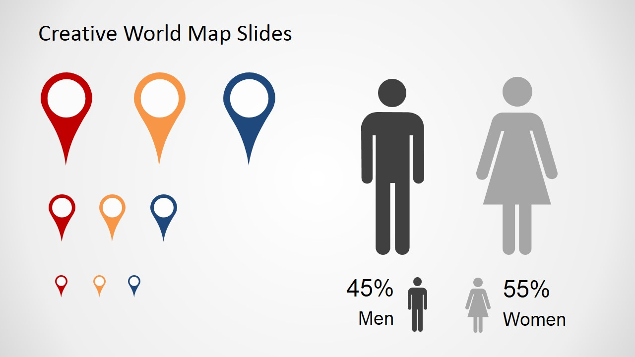 Free creative world map slides for powerpoint slidemodel gumiabroncs