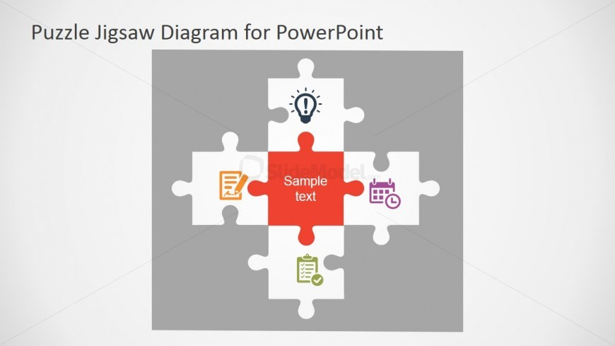 Powerpoint Puzzle Pieces Template Slidemodel