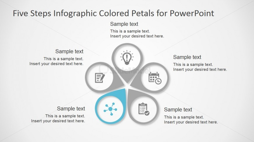 Five Steps Infographic Free Powerpoint Template Slidemodel