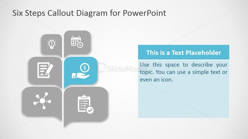Callout boxes six step powerpoint diagram slidemodel ppt diagram free six steps ccuart Choice Image