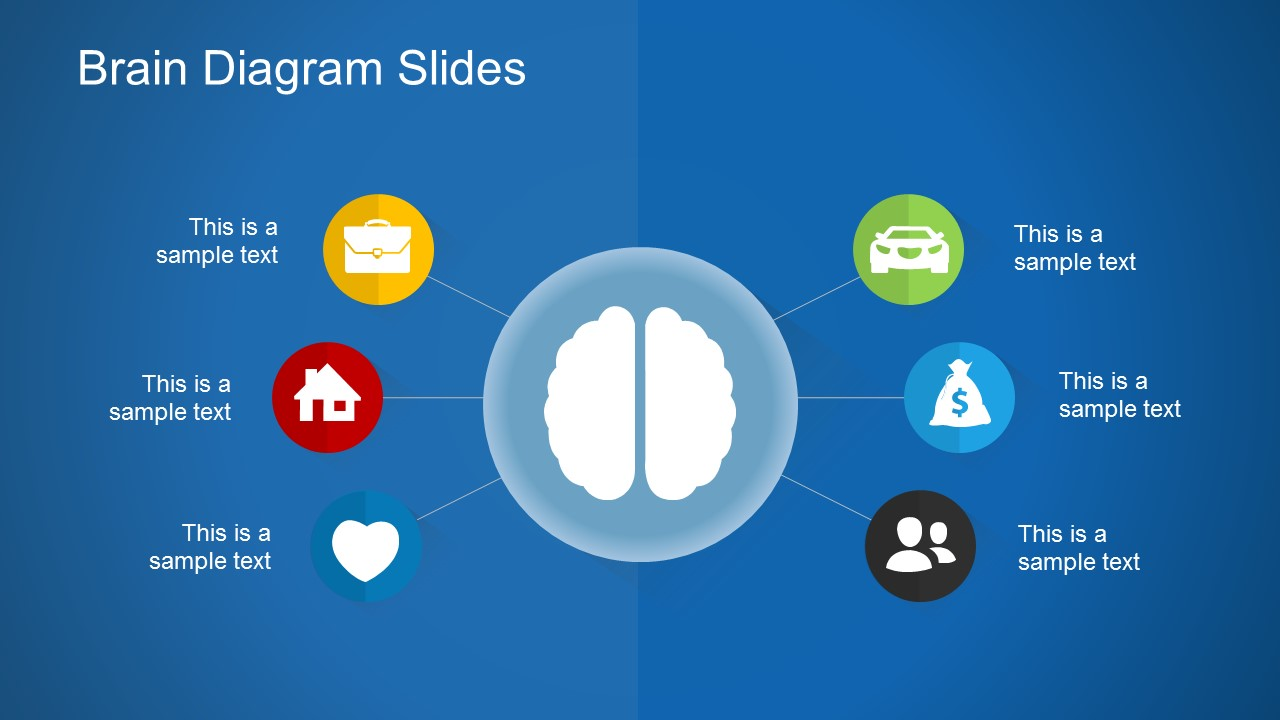 Free Brain Diagram Slides For PowerPoint