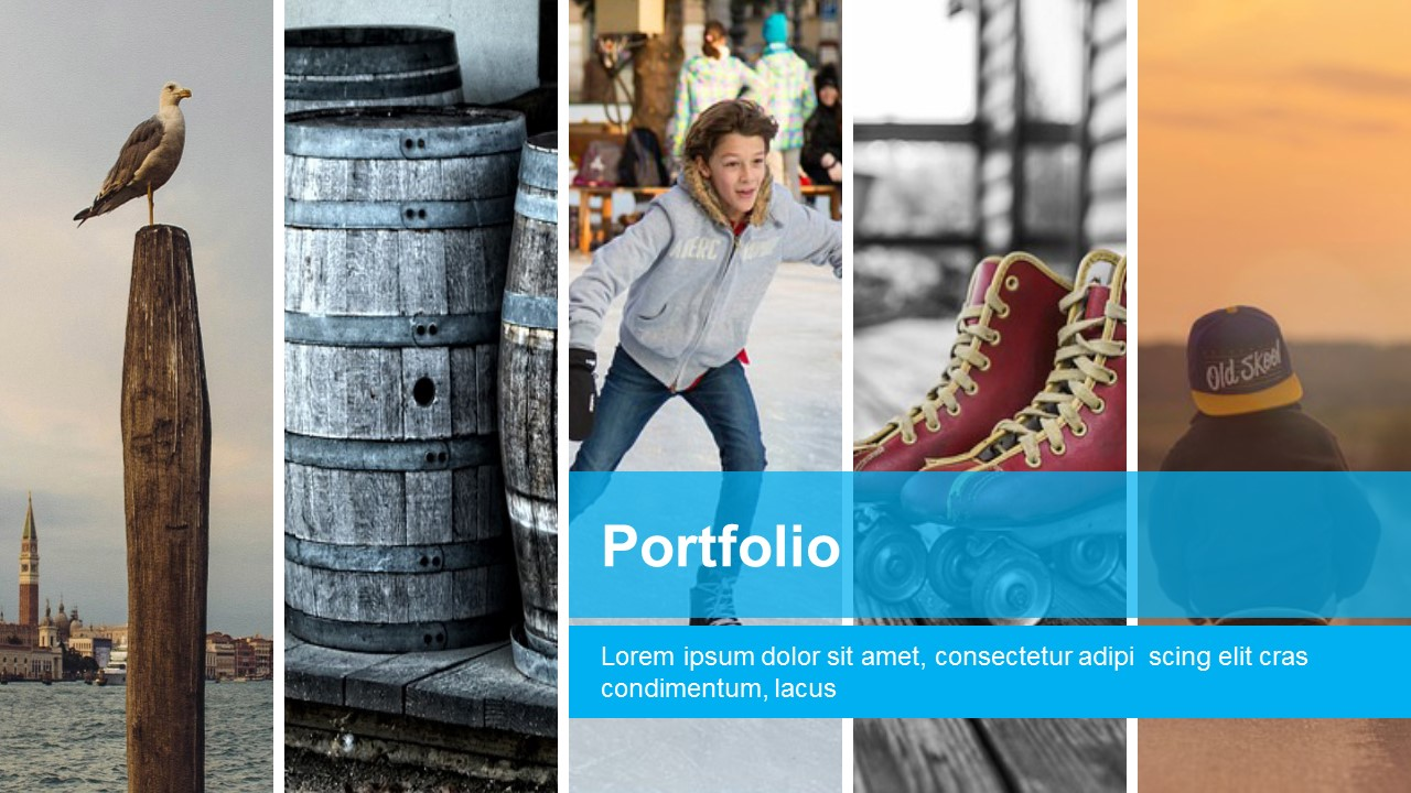 free business portfolio powerpoint templates slidemodel