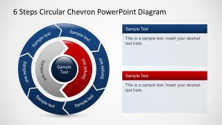 Free PowerPoint Circular Puzzle Diagrams With Arrows