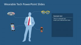 Free Wearable Technology Vector PowerPoint Template