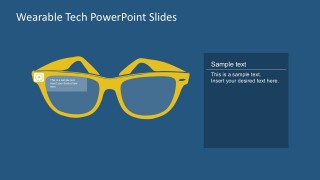 Free High Technology Goggle Vector For PowerPoint