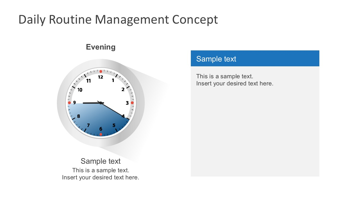 Free daily routine management concept free better time management template for entrepreneurs toneelgroepblik Gallery