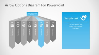 8 Steps PowerPoint Graphic Diagrams Free Template