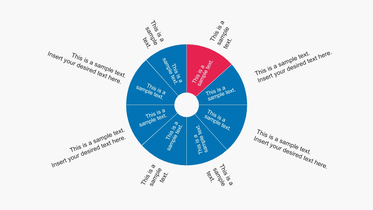Free Circle Chart With Editable Steps Process