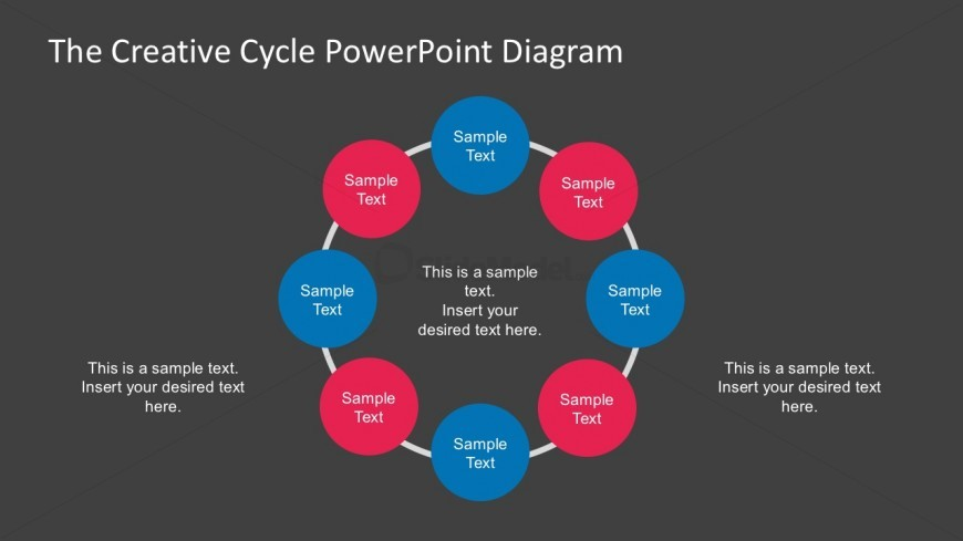 Free Download Circular Steps Diagrams Slides