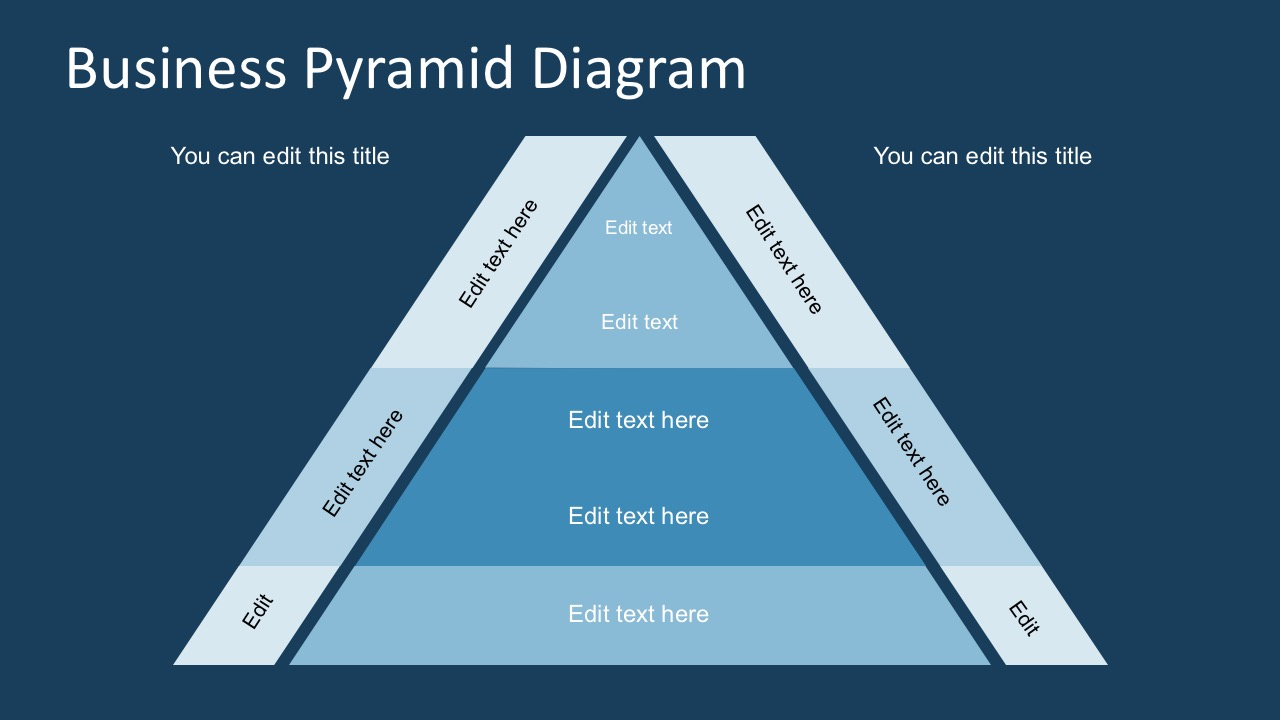 Free Download Business Pyramids Diagrams