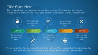 Free Timeline PowerPoint Clip Arts Vectors