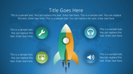 Free Rocket Chart PowerPoint Templates