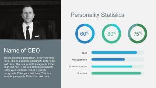 Company Statistics Free PowerPoint Templates
