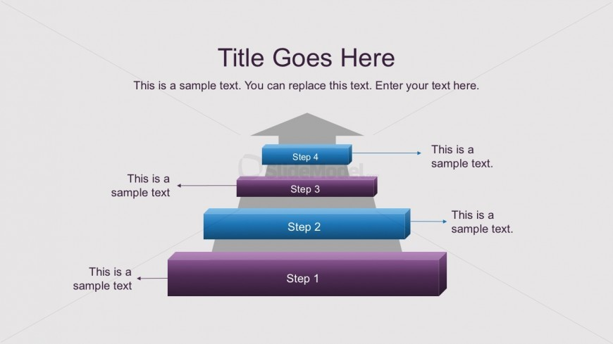 Free Arrow Ladder Diagrams for PowerPoint