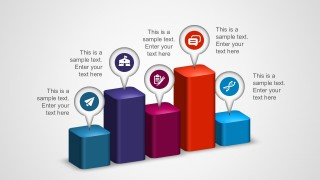 Free 3D Colorful Diagrams PowerPoint Presentation Slides