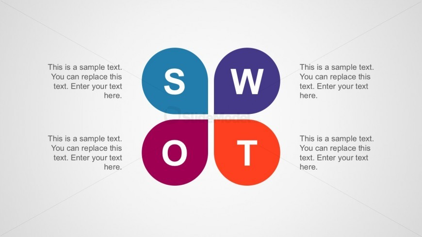 SWOT Analysis PowerPoint Diagrams Template for Free Download