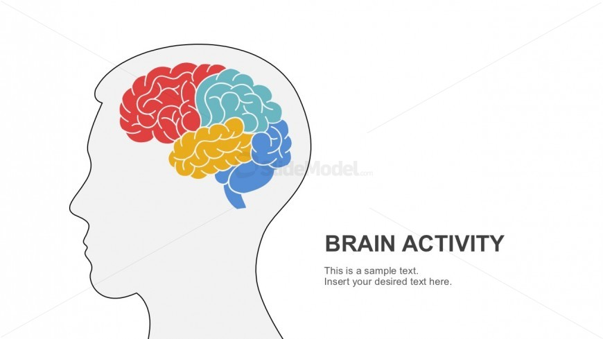 Free Brain Activity Powerpoint Template Slidemodel