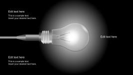 Free Lightbulb Vector Metaphor For PowerPoint