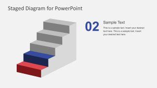 Editable Ladder Diagram In Powerpoint