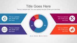 Donut Chart PowerPoint Graphic Slides