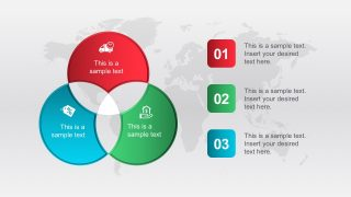 3 Steps Cycle Diagrams PowerPoint Template