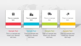Free Column Chart PowerPoint Templates