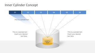 Free Cylinder Diagrams Presentation Slides