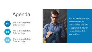 Agenda Presentation Slides PowerPoint