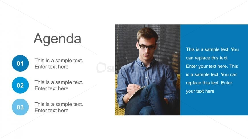 Agenda Presentation Slides PowerPoint