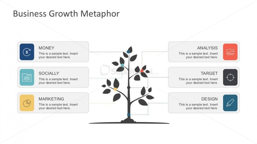 Free Tree Growth Vector Diagram