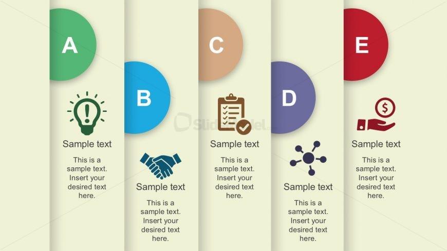 Process Flow Free Presentation Template