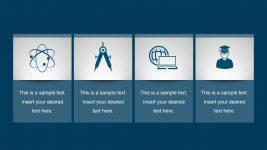 4-Step Flat Process Chart PowerPoint
