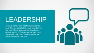 Follow Leadership Illustration PPT