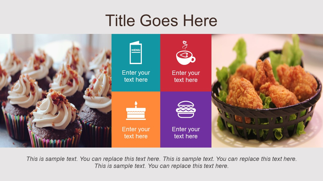 Fast Food Restaurant Presentation Slide