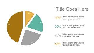 Data Driven Pie Chart Presentation