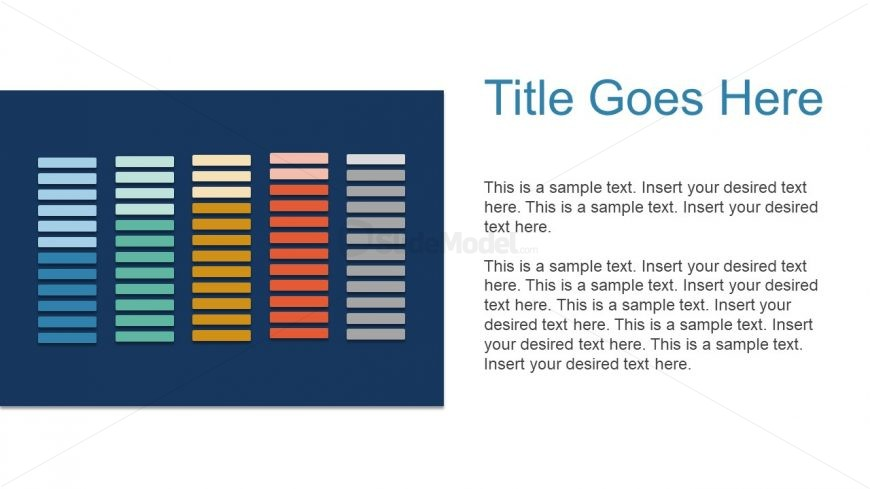 Free Infographic Template of Flat Elements